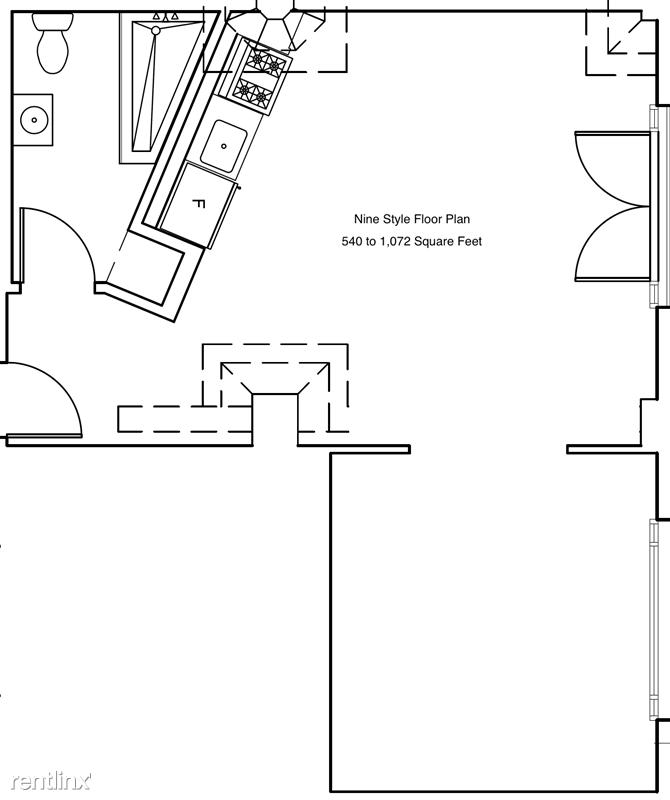 Cosmo Lofts - 4 - Nine Style Floor Plan