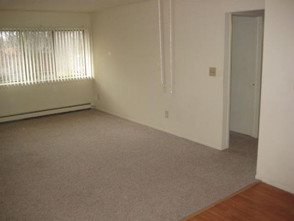 Garden Court Apartments and Townhomes - 2 - Living Room w/Berber carpet