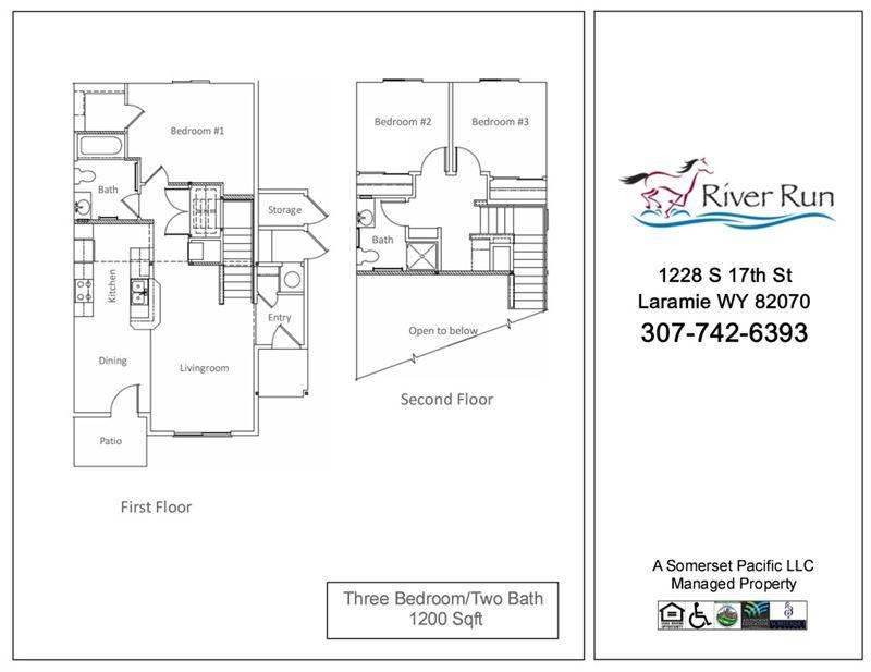 River Run I II Apartments 1228 S 17th St Laramie WY Show