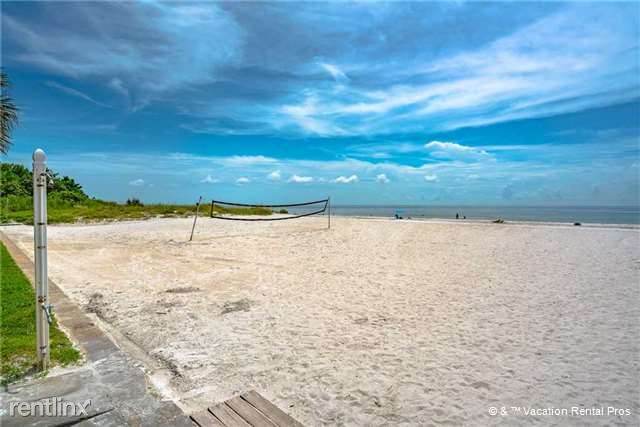 Serve up a great time on our volleyball court