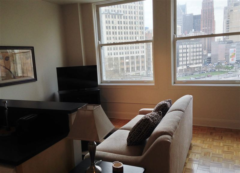 Furnished Turnkey/Flex-Lease - Downtown Detroit - 9 - 9 LR VIEW