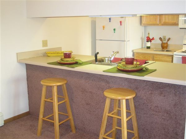 Kitchen Open To Ining An Living Room