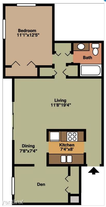 Pangea Groves Apartments Indianapolis 1-Bed-with-Living-&-Dining-HN Floor Plan_05