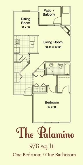 The Palamino Floorplan