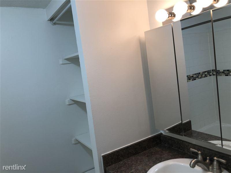 Bathroom vanity wall