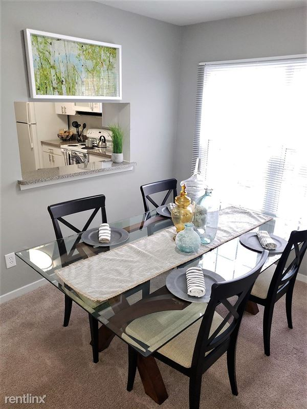 Westbury Village Townhouses - 4 - Open living and dining concept