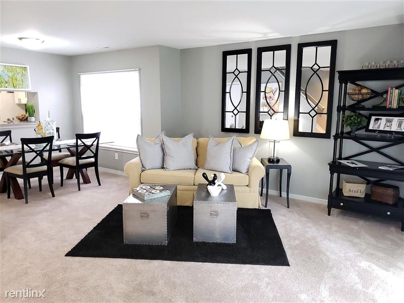 Westbury Village Townhouses - 2 - Open living and dining concept