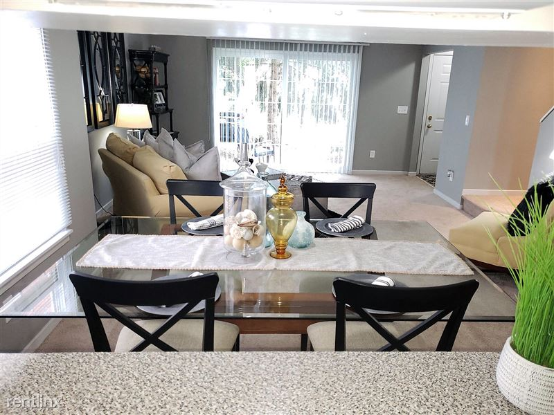 Westbury Village Townhouses - 1 - Open Living and Dining Concept