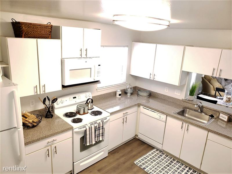 Westbury Village Townhouses - 7 - Large Open Kitchen with Tons of Cabinets