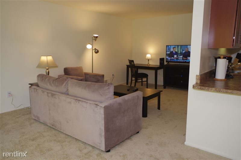 2374 Coolidge - Living Room & Kitchen
