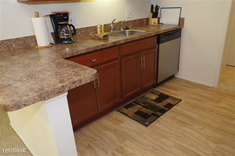 2374 Coolidge Kitchen Floor and Granite Counter Top