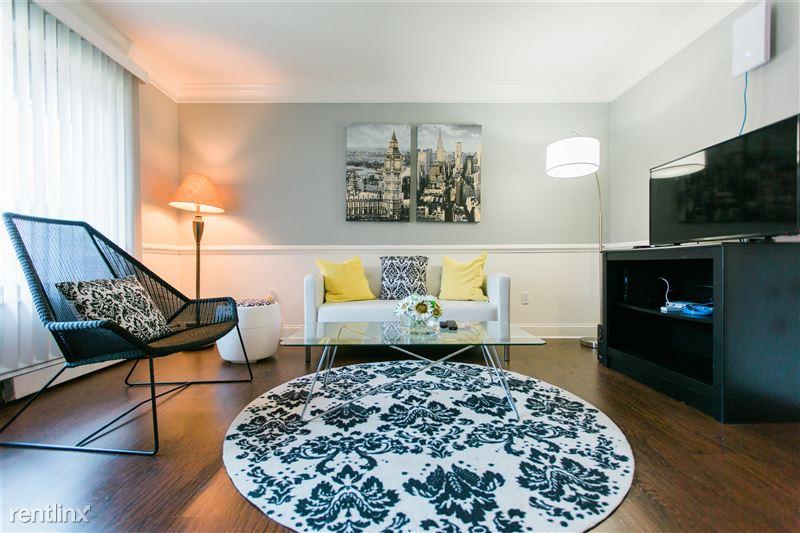 Furnished Suites in Royal Oak - 12 - 3923 Devon - living room