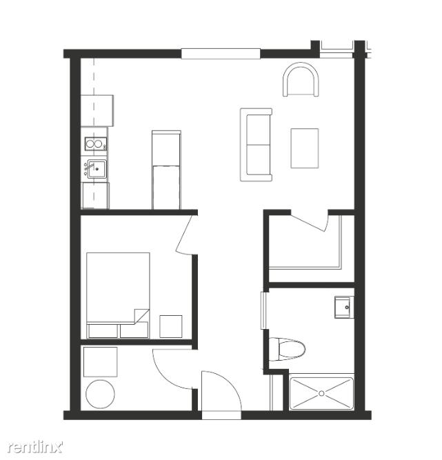 Ferndale Flex-Lease/Furnished @ FerndaleHaus - 18 - Aalten Floorplan