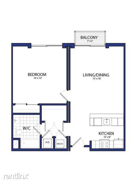 Furnished Suites - Corktown @ The Corner Detroit - 5 - 1B - A