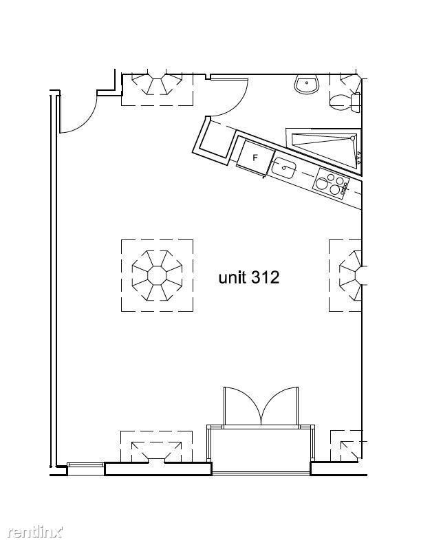 Cosmo Lofts - 3 - 212 floor plan