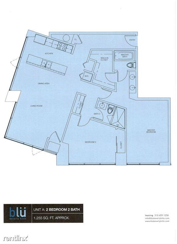 Blu Beverly Hills - 8 - 01 Blu floor plan
