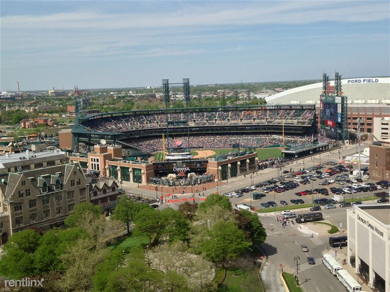 Detroit Flex-Lease/Furnished @ The David Whitney - 9 - 4.0-Stadium View from DWB 1405 window