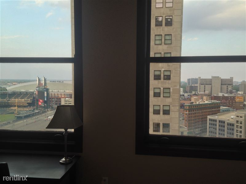 Detroit Flex-Lease/Furnished @ The David Whitney - 13 - 18-Bedroom window view from DWB 1405