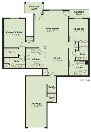 Huge Floor Plan