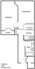 2E 1 bedroom (3)