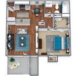 Live Oak Apartments - 1 - LO_A1_1BD1BA