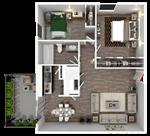 Broadway Oaks Apartment Homes - 5 - A2_3d