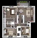 Broadway Oaks Apartment Homes - 9 - C1_3d
