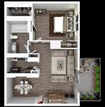 Broadway Oaks Apartment Homes - 6 - A1_3d_draft
