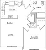 Tooley 1 Bed