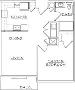Viewmont 1 Bed