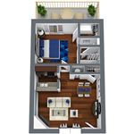 Metro 7000 Apartments - 1 - A1