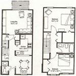Forest Hills - 1 - floor plan