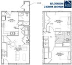 Butler 2 Bed Townhouse wLogo