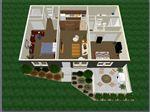 2bedroom2bathMaster 3D