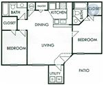 Round Rock TX   Property ID  711038 - 2 - 1000sqft