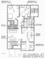 1121-1123 Second Floor