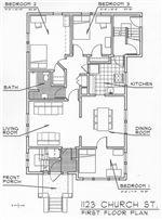 1121-1123 First Floor