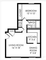 Pangea Hills - 2 - Pangea Hills 1 Bedroom Apartment Floorplan Indianapolis _03