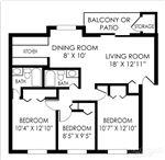 Pangea Hills - 3 - Pangea Hills 3 Bedroom Apartment Floorplan Indianapolis _07