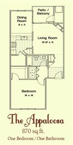 The Appaloosa Floorplan