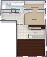 The Claridge Apartments - 10 - claridge-1x1-302-602-920sqft