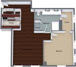The Claridge Apartments - 12 - claridge-1x1-305-605-960sqft