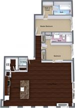 The Claridge Apartments - 15 - claridge-2-3x25-penthouse-1600-1800sqft