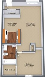 Sterling Troy Apartments - 5 - sterlingtroy-1x1-748 walk-in-closet