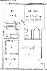North Shore Apartments - 2 - 970 Square Feet