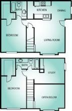 Floor Plans  1230 Sq Ft