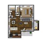 Oakwood Apartments - 1 - One Bedroom