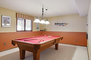 Pool Table included for family fun!
