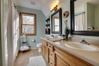 Master Full Bath with Double Vanity