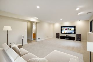 Family room - virtually staged